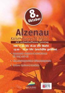 Plakat Kaiser Ruprecht Markt Alzenau GHG