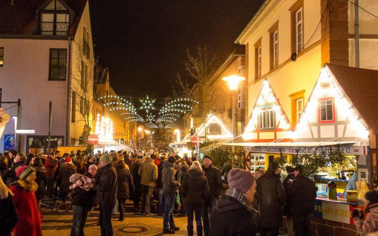Hanauer Straße Alzenau Weihnachtsmarkt GHG