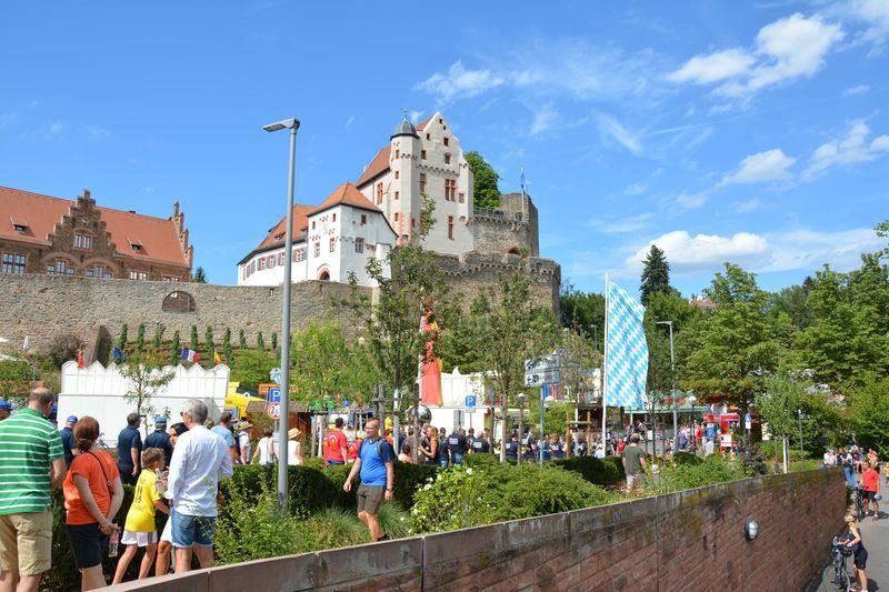 Burg Alzenau während Stadtfest GHG